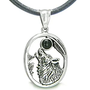 Wolf Symbol Necklace