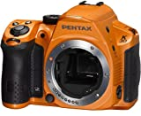 Pentax K-30 lens kit w DA 18-55WR Weather-Sealed 16 MP CMOS Digital SLR (Silky Orange)