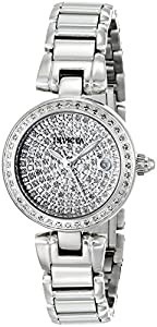 Invicta Women's 15873 Angel Analog Display Swiss Quartz Silver Watch