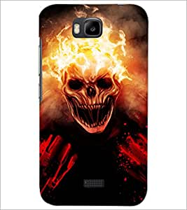 HUAWEI HONOR BEE GHOST Designer Back Cover Case By PRINTSWAG