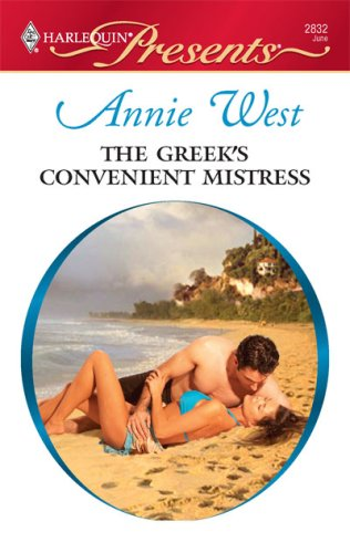 Image for The Greek's Convenient Mistress (Harlequin Presents)
