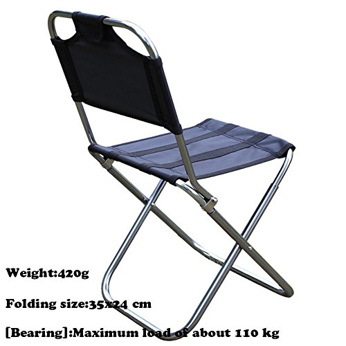 Ezyoutdoor Stool Chair Folding Lightweight For Camping