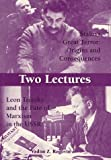 img - for Two Lectures: Stalin's Great Terror: Origins and Consequences: Leon Trotsky and the Fate of Marxism in the USSR book / textbook / text book