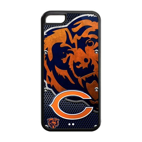 Christmas Gifts Custom Diy Design NFL Chicago Bears Slim Fit Iphone 5C Plastic And TPU Silicone Back Case at Amazon.com