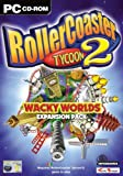 Roller Coaster Tycoon 2: Wacky Worlds Expansion Pack (PC CD)