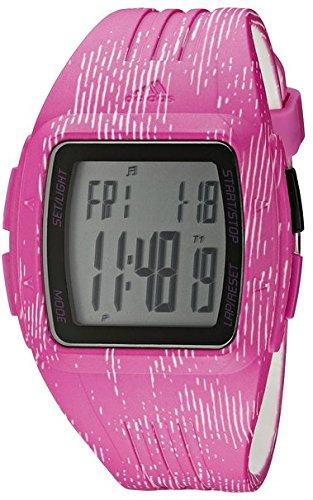 Adidas Women's Polyurethane Band Plastic Case Quartz Black Dial Analog Watch ADP3185