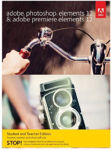 Adobe Photoshop Elements & Premiere Elements 12 - Student and Teacher Edition [Download]