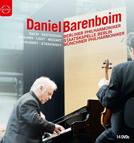 DVD : Daniel Barenboim - Daniel Barenboim Box (Boxed Set, 14 Disc)