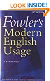 Fowler's Modern English Usage (Re-Revised 3rd Edition)