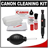 Canon Optical Lens and Digital SLR Camera Cleaning Kit with Brush, Microfib ....