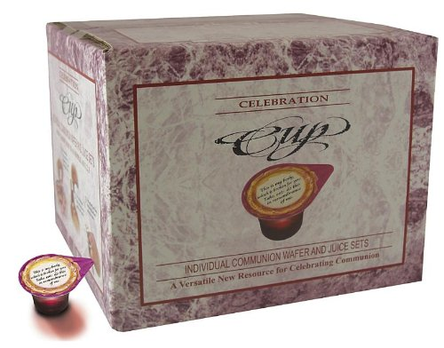 Celebration Cups Wafer and Juice Communion Set (100 Count) (Communion Supplies compare prices)