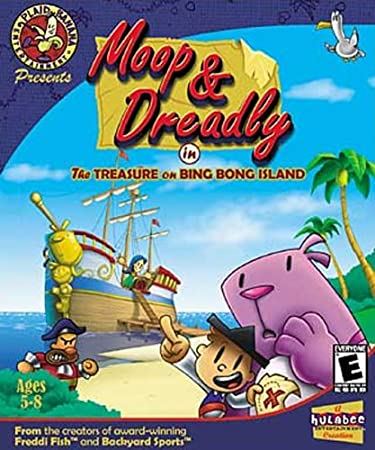 Pc-Cd Rom - Moop & Dreadly / The Treasure On Bing Bong Island - [CD]
