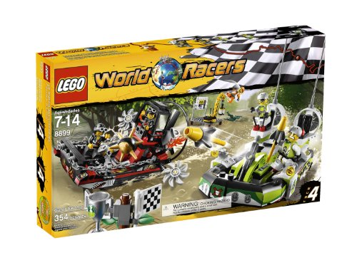 LEGO® World Racers Gator Swamp 8899 Amazon.com