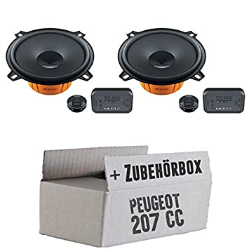 Peugeot 207 cC-dieci hertz dSK - 130 système de haut-parleurs 13 cm avec