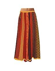 Sttoffa Womens Cotton Skirts -Multi-Colour -Free Size - B00MJO81RO
