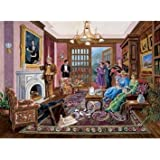 Bits & Pieces 1000 Piece Mystery Puzzle - Murder at Beford Manor by Artist Gene Dieckhoner