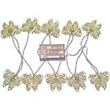 Segolike 165cm Metal Battery Operated Metal Butterfly Design Decoration Light Wedding Home Party Bar Fairy String...