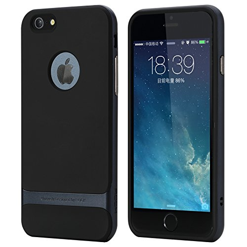 """iPhone 6/6s 4.7"""" Case,ROCK® [Royce] Anti-scratch Drop Protection Ultra Thin Slim Fit Dual Layered Heavy Duty Armor Hybrid Hard PC+Soft TPU Protectiv"""
