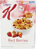 Special K Cereal, Red Berries 37 Oz