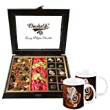 Chocholik Classic Combination Of Chocolates & Dry Fruits With Special Coffee Mugs - Chocholik Belgium Chocolates