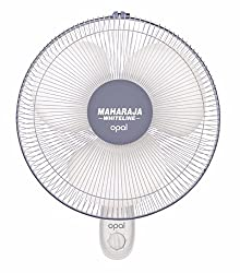 Maharaja Whiteline Opal 55-Watt Wall Fan (Grey and White)