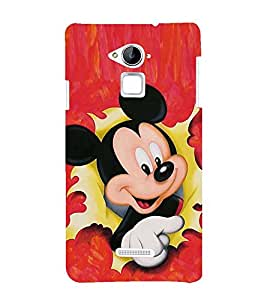 CUTE DOLL Designer Back Case Cover for Coolpad Note 3