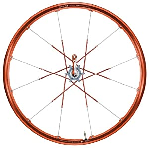 "Crank Brothers Opium 26"" disc wheelset, 24h - red"