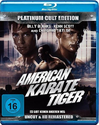 American Karate Tiger ( Platinum Cult Edition ) [Blu-ray]