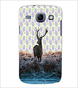 PrintDhaba Deer D-3428 Back Case Cover for SAMSUNG GALAXY MEGA 5.8 (Multi-Coloured)