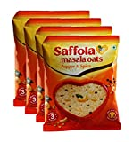 #10: Big Bazaar Combo - Saffola Masala Oats, Pepper and Spice, 40g (Buy 3 Get 1, 4 Pieces) Promo Pack