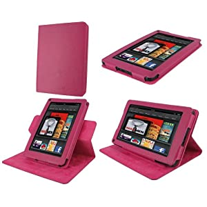 Kindle fire case rooCASE Dual-View Multi Angle
