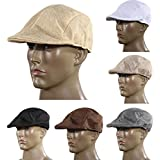 Generic Mens Vintage Flat Cap Peaked Racing Hat Beret Country Golf Cool Style-parent