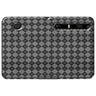 Amzer AMZ90489 Luxe Argyle High Gloss TPU Soft Gel Skin Case for Motorola XOOM (Clear)