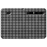 Amzer AMZ90489 Luxe Argyle High Gloss TPU Soft Gel Skin Case for Motorola XOOM (Clear)