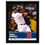 Mike Napoli Boston Red Sox 2013 MLB World Series Champions 10'' x 13'' Sublimated Player Plaque