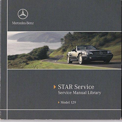 1998 mercedes benz sl500 sl600 sl 500 sl 600 r129 for Mercedes benz r129 service repair workshop manual