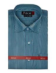 Arihant Men's Striped Formal Shirt - B00QQB9KQ2