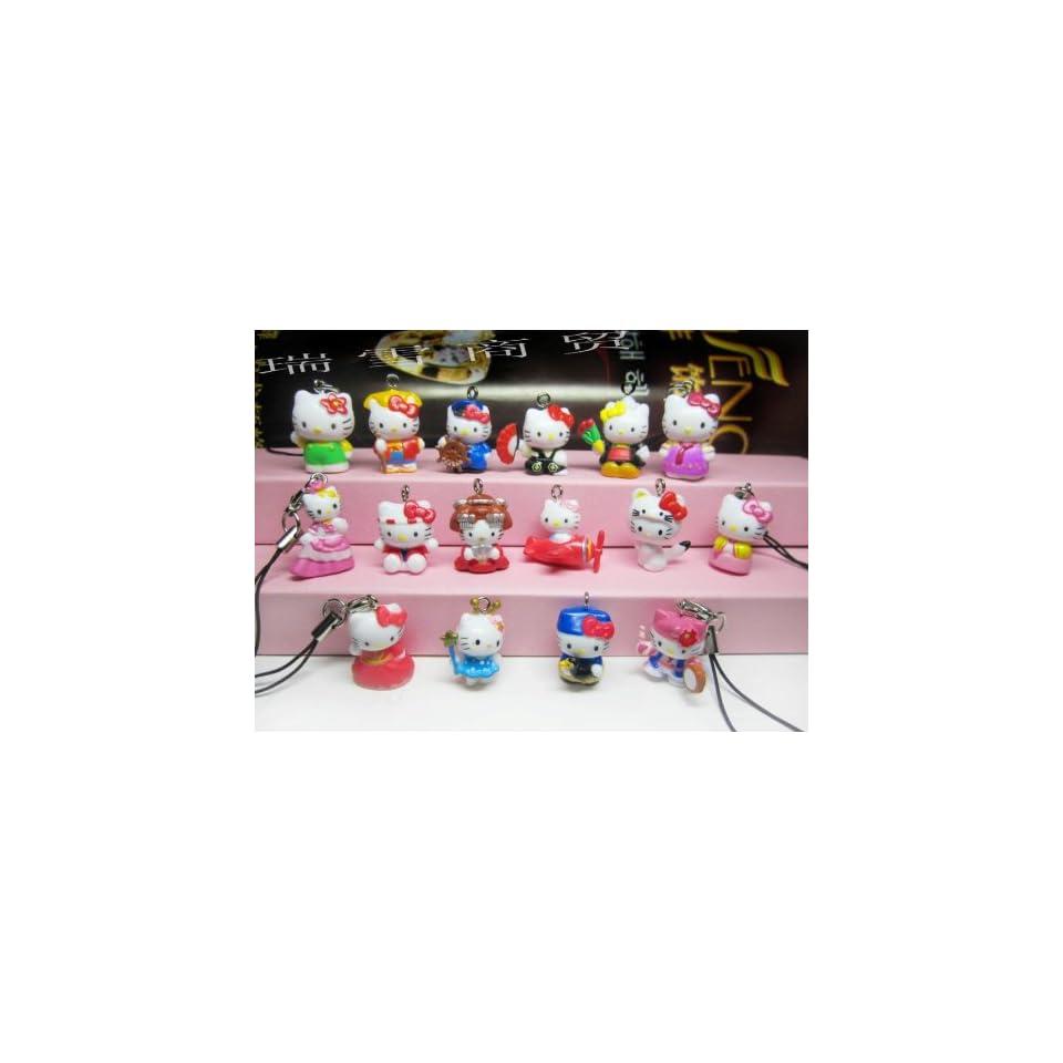 Sanrio Hello Kitty Lime Cell Phone Charm