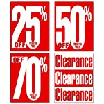 20pc Clearance & Percent Off Poster Kit - 22