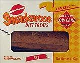 51VPQMYSW8L. SL160  Smackaroos Diet Treats Rye Low Carb Crackers