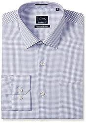 Arrow Men's Formal Shirt (8907378524041_ASSF0313_46_Light Purple)