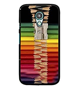 PrintDhaba Sharper with Coloured Pencils D-4269 Back Case Cover for MEIZU M1 NOTE (Multi-Coloured)