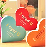 Stationery Cute Love Notes Notebook Note Pads Schedule Plan K504-1