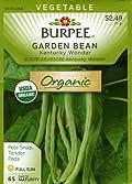Burpee 68187 Organic Bean, Pole Kentucky Wonder Seed Packet