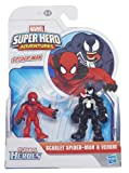 Playskool Marvel Super Hero Figure Spider-Man and Venom (Pack of 2)