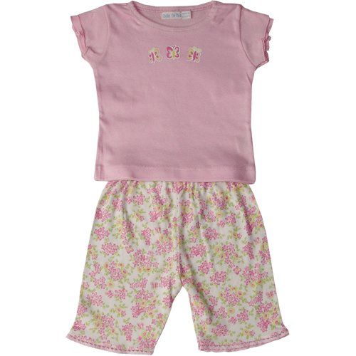Under the Nile Organic Egyptian Cotton Butterfly Top With Shorts