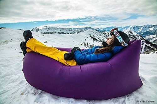 Sababa Vibe Chill Inflatable Lounge, Hang Out Air Chair ...