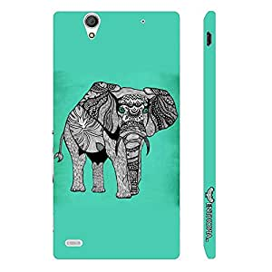 Sony Xperia C4 Aztec Giant designer mobile hard shell case by Enthopia