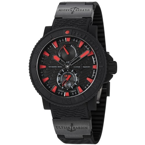 Ulysse Nardin Maxi Marine Diver Black Sea Automatic Mens Watch 263-92-3C