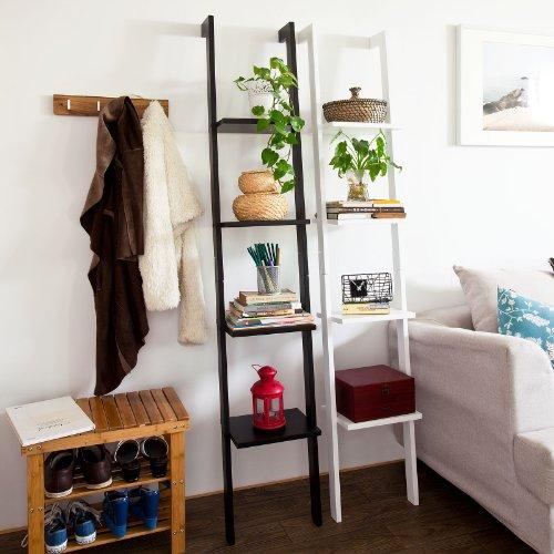 Estanter a moderna escalera de madera con cuatro plantas - Estanteria para plantas ...